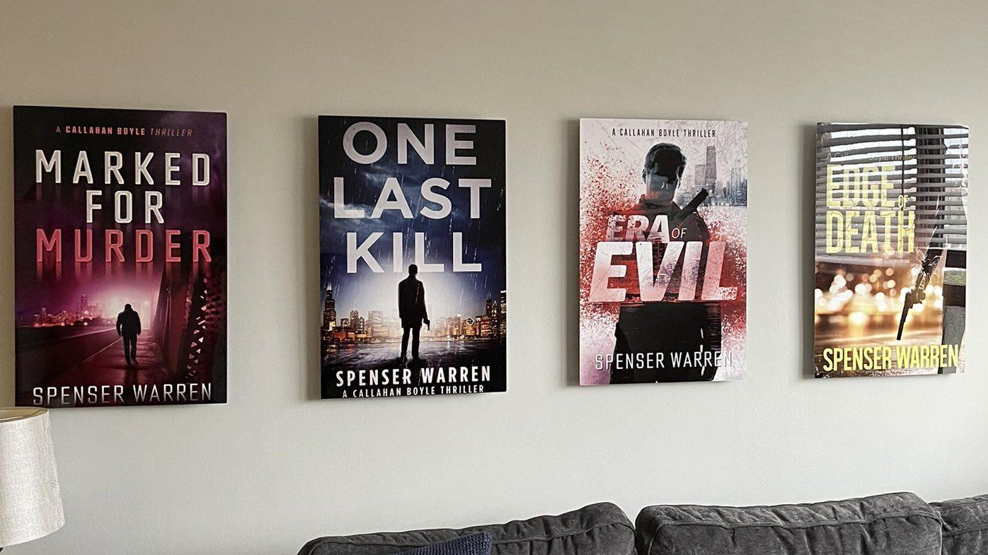Spenser Warren trilogy covers