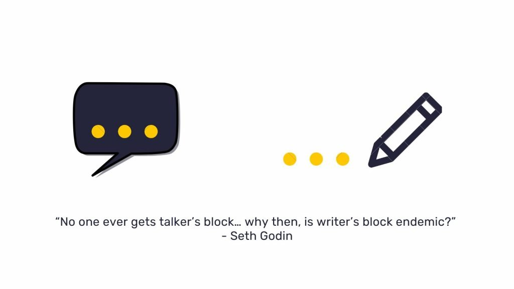 Sathya talker's block